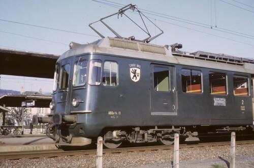 ABDe 4/4 Triebwagen MThB