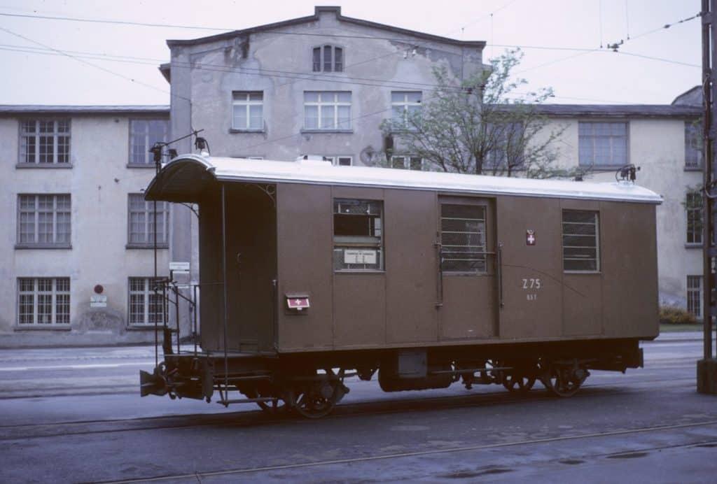 Busbetrieb Postwagen Z 75