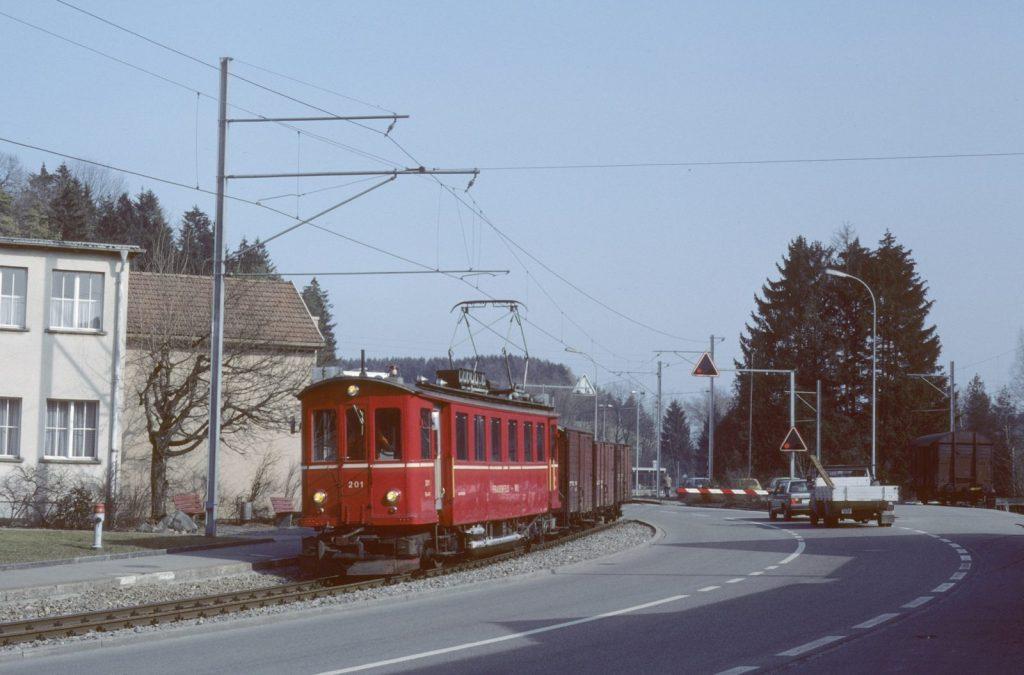 Güterzug Frauenfeld wil bahn