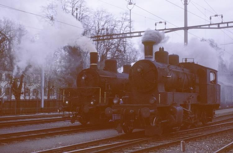 Dampfloks Kreuzlingen
