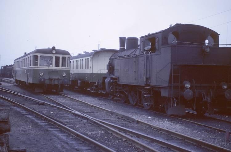 Dieseltriebwagen MThB