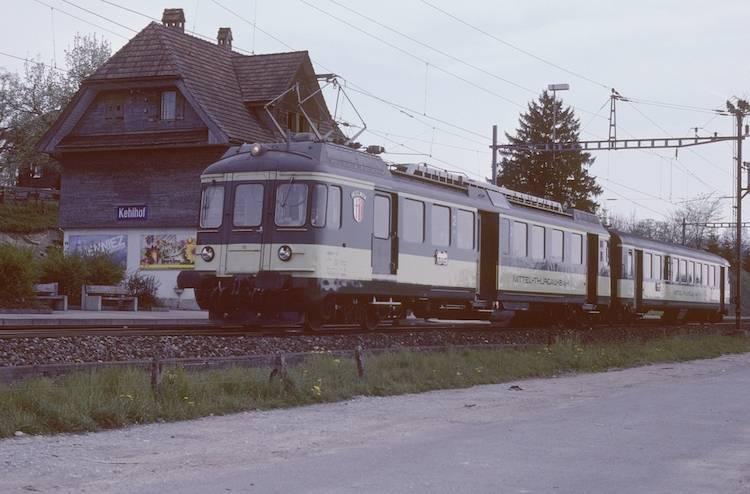 Mittelthurgaubahn Regionalzug