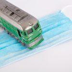 Berichte über die Auswirkungen des Coronavirus, auf die Eisenbahn