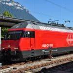 Schweizer Bahn Geschichte
