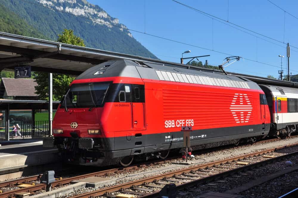 SBB Lok Geschichte Schweizer Bahn Geschichte